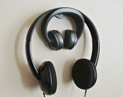headphone stand 2 3d printable model