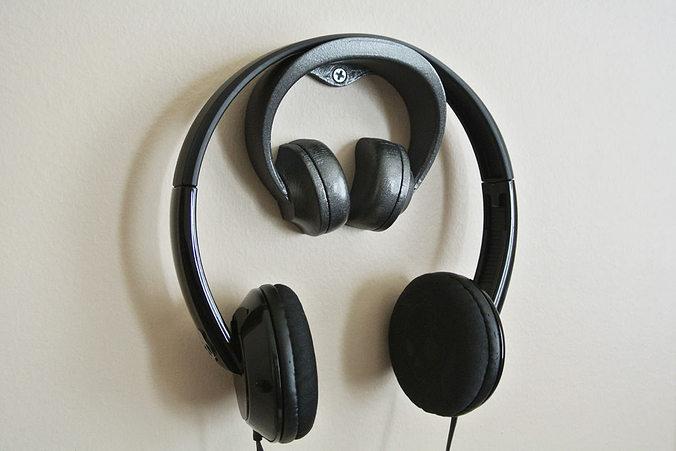 headphone stand 2 3d model stl 1