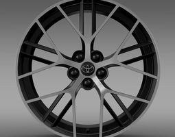 Toyota GT 86 concept rim 3D model