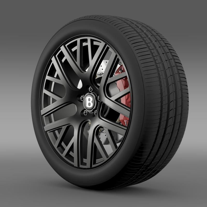 Bentley Continental GT Speed wheel
