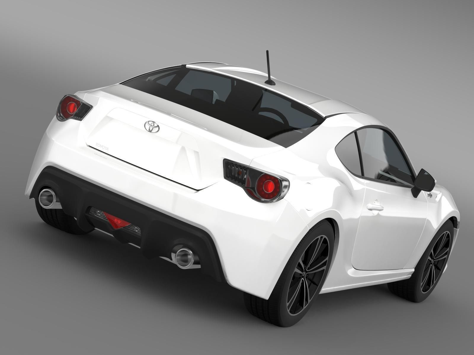 Perfect ... Toyota Gt 86 2012 3d Model Max Obj 3ds Fbx C4d Lwo Lw Lws 5 ...