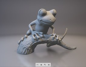 3D printable model Tree frog ecology