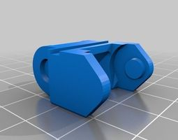printrbot open cable chain 3D printable model