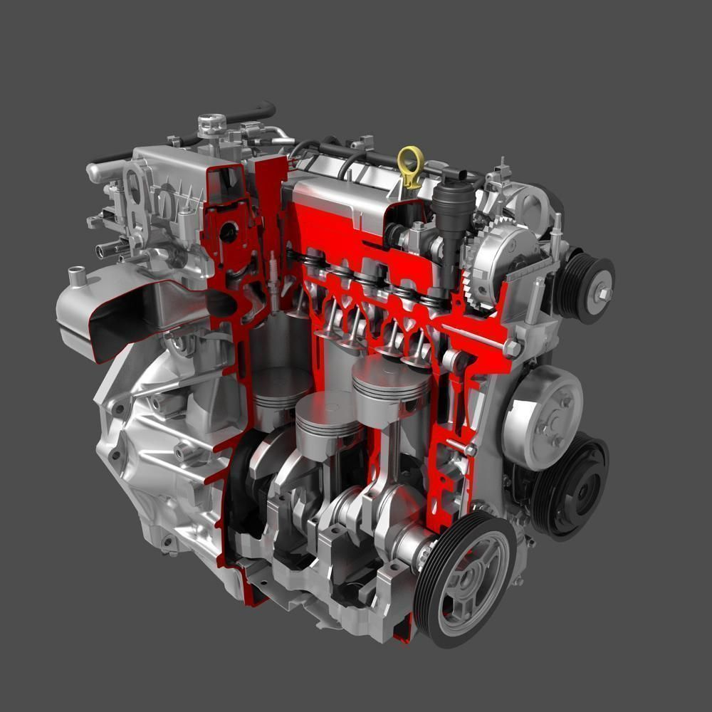 piston in car engine - photo #38