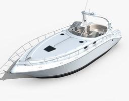 Yacht 02 3D