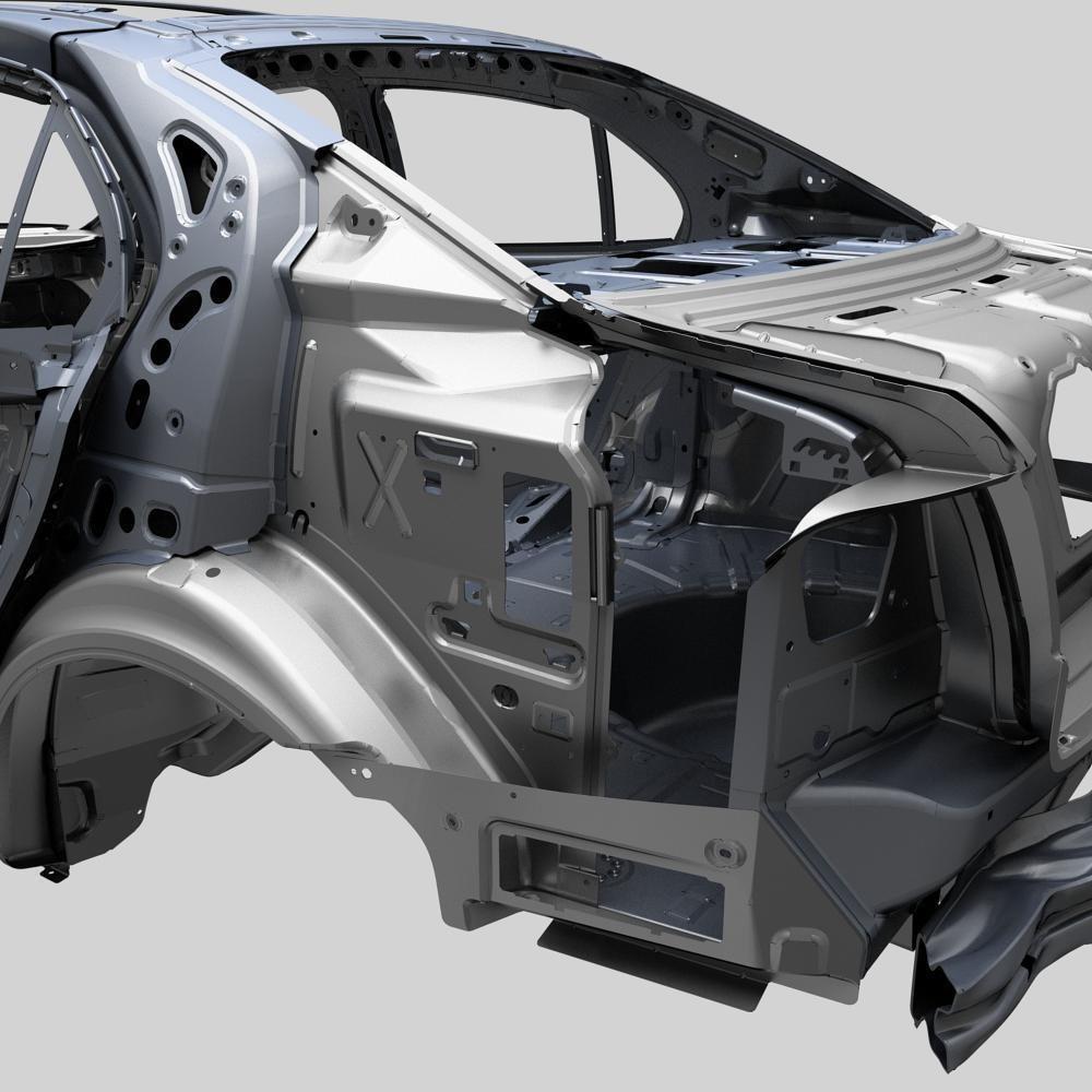 Design of car frame -  Car Frame 3d Model Max 10