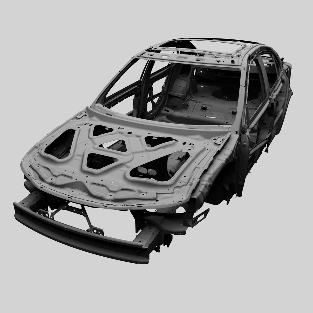 Design of car frame -  Car Frame 3d Model Max 15
