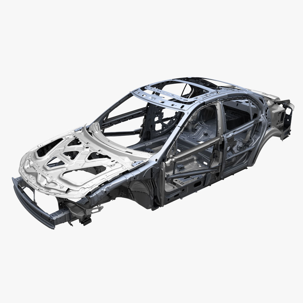 3D model Car frame | CGTrader