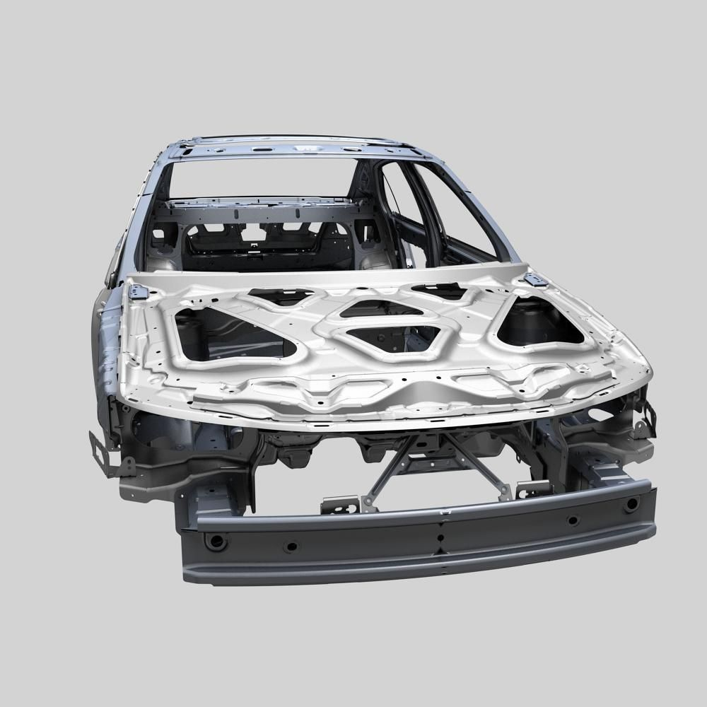 Car Frame 3D Model MAX