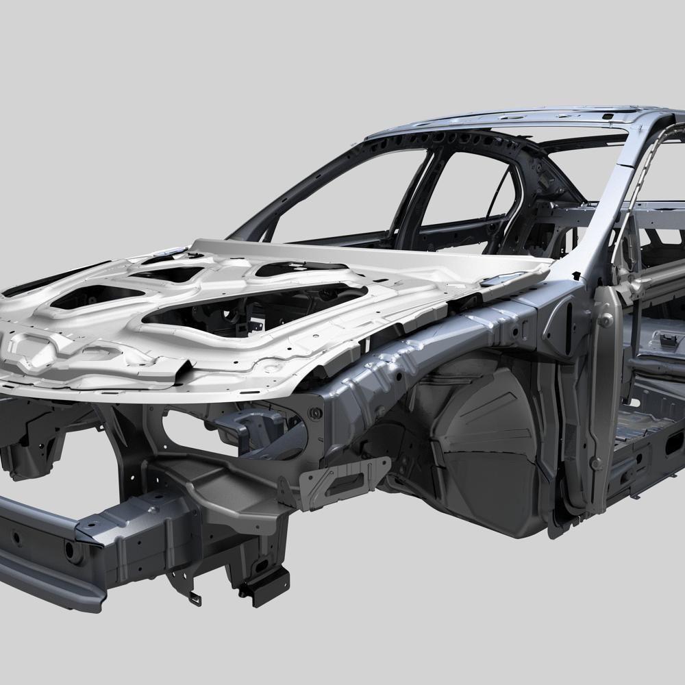 Design of car frame -  Car Frame 3d Model Max 8