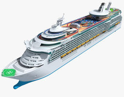 mariner of the seas cruise 3d model