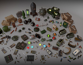 3D asset Military Pack