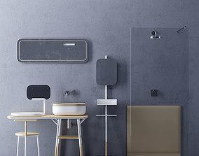3D model Set in the bathroom Novello