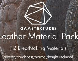 Leather Material Pack by GameTextures 3D