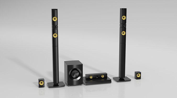 stereo 72 am144 3d model obj mtl 1