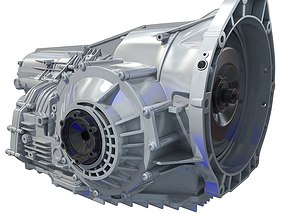3D model Transmission Cayman Boxster
