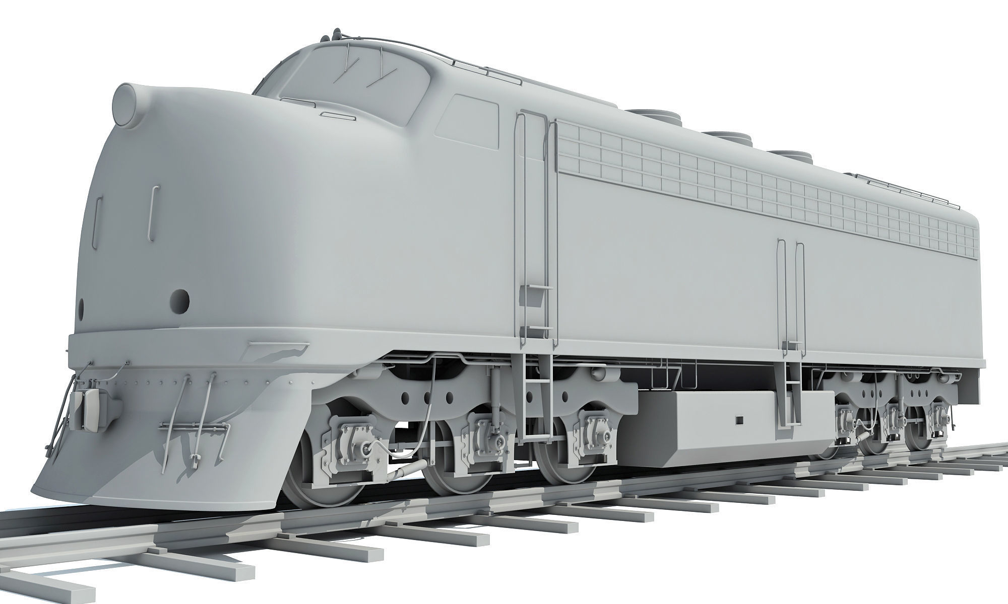 Train Locomotive Models