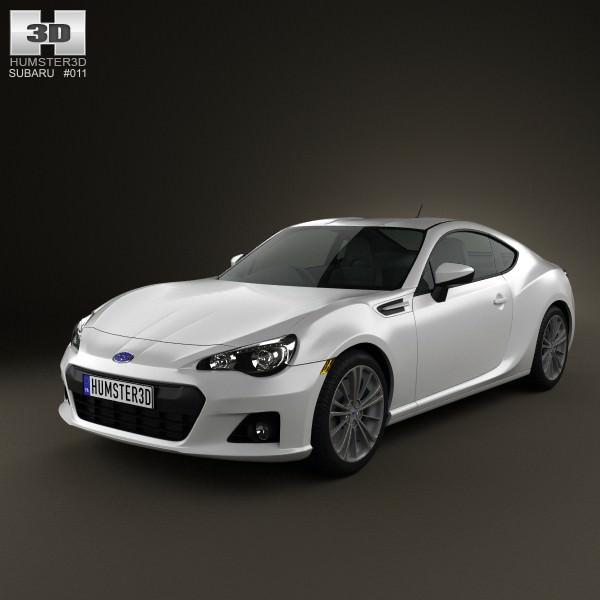 3D Model Subaru BRZ 2013