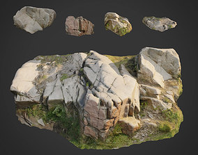 3d scanned nature stone 011