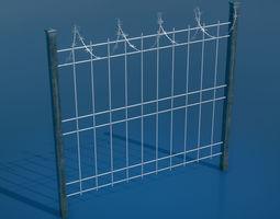 3D asset Fence Pack