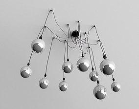 3D Industrial Pendant Light