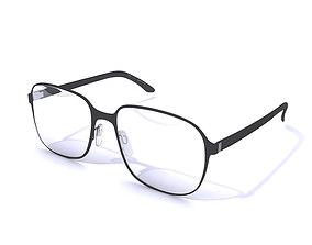 Glasses Safilo 3D model