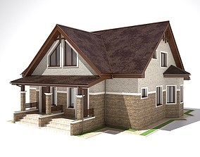 realistic 3D House