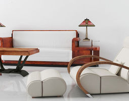 3d furniture set 08 am142