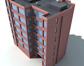 Red Brick Building 48 3D model