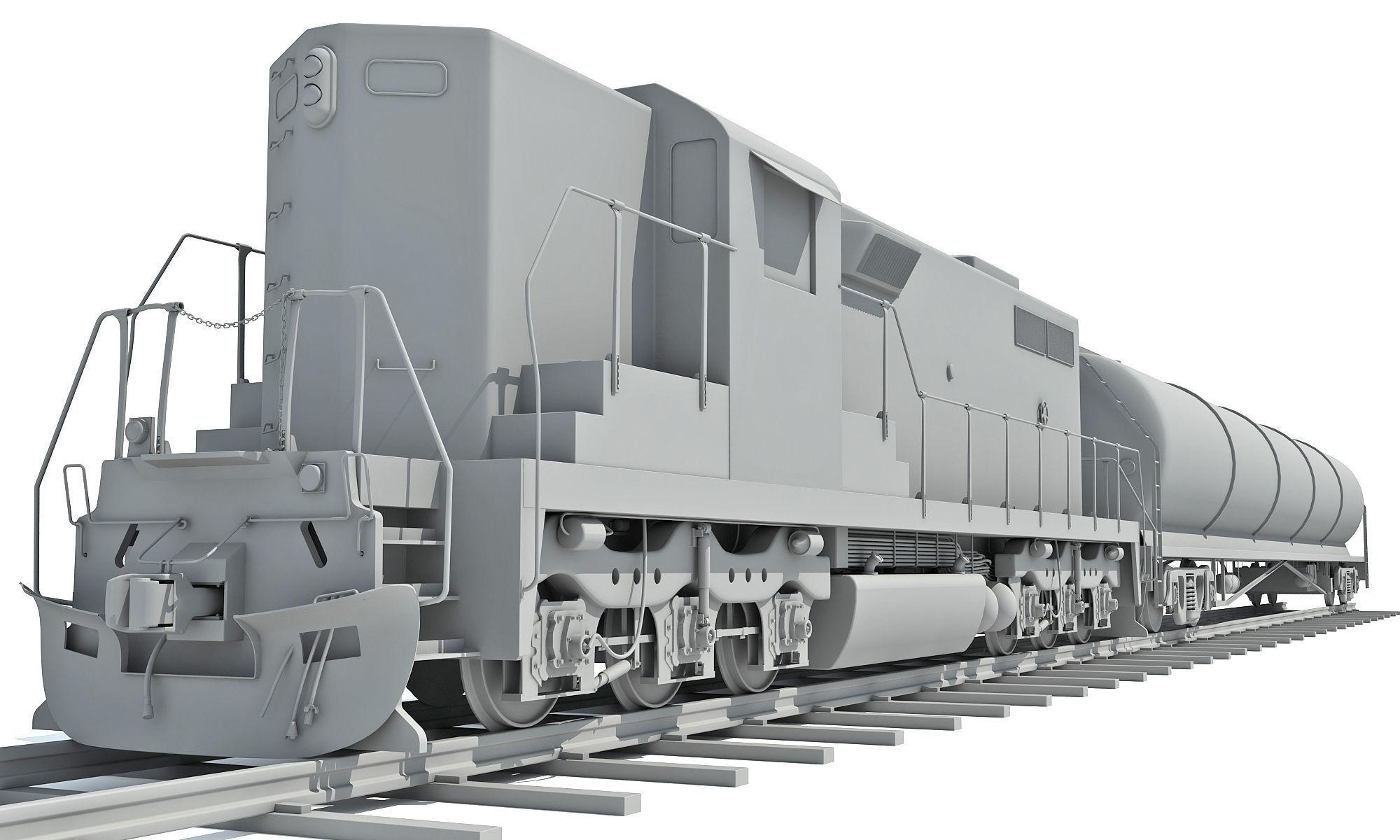 Detailed Tanker Train 2