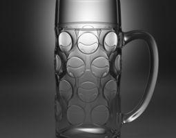 3D beer glass type1