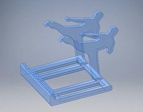 3D printable model Sidekick phone holder