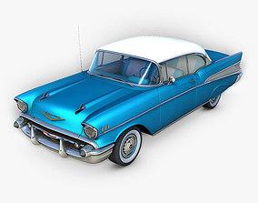 status 3D model Chevrolet Bel Air 1957