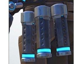 Mccree Stun Grenade - Overwatch Cosplay 3D print model