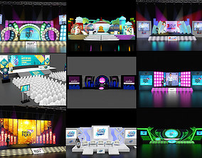 3D model Stage collection