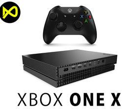 Xbox One X Set 3D model
