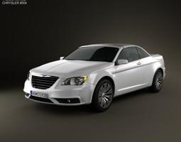 3D model Chrysler 200 Convertible 2011