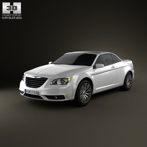 3D Model Chrysler 200 Convertible 2011