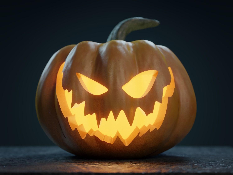 Jack O Lantern Pumpkin For Cooking