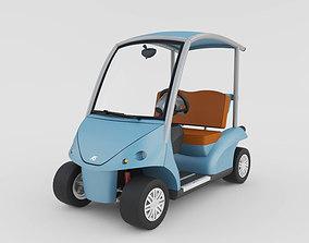 3D model Golf Cart Garia