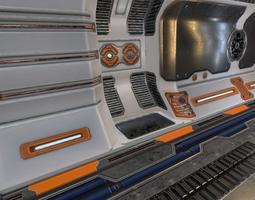 Sci-fi Toonel 3D asset
