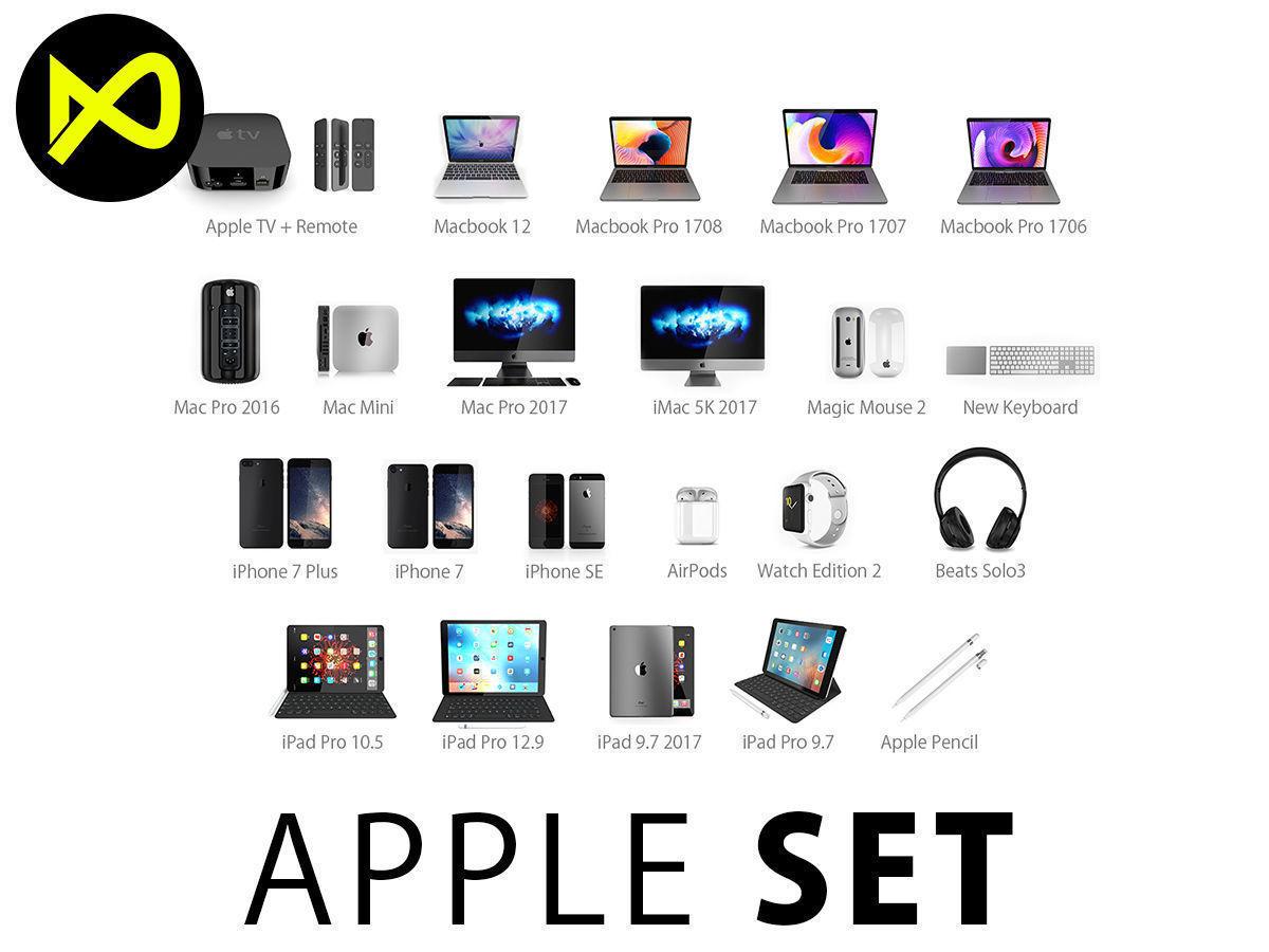 Apple Complete Set 2017