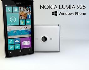 3D model game-ready Nokia Lumia 925