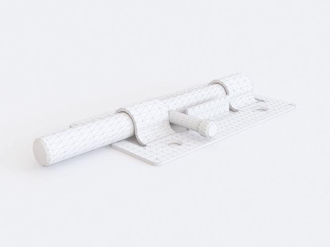 Door latch vol 01   3D model