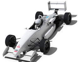 usf 2000 formula race car 3d