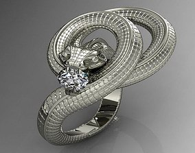 Dragon keeper ring 3d print model