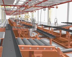 3d production line equipment
