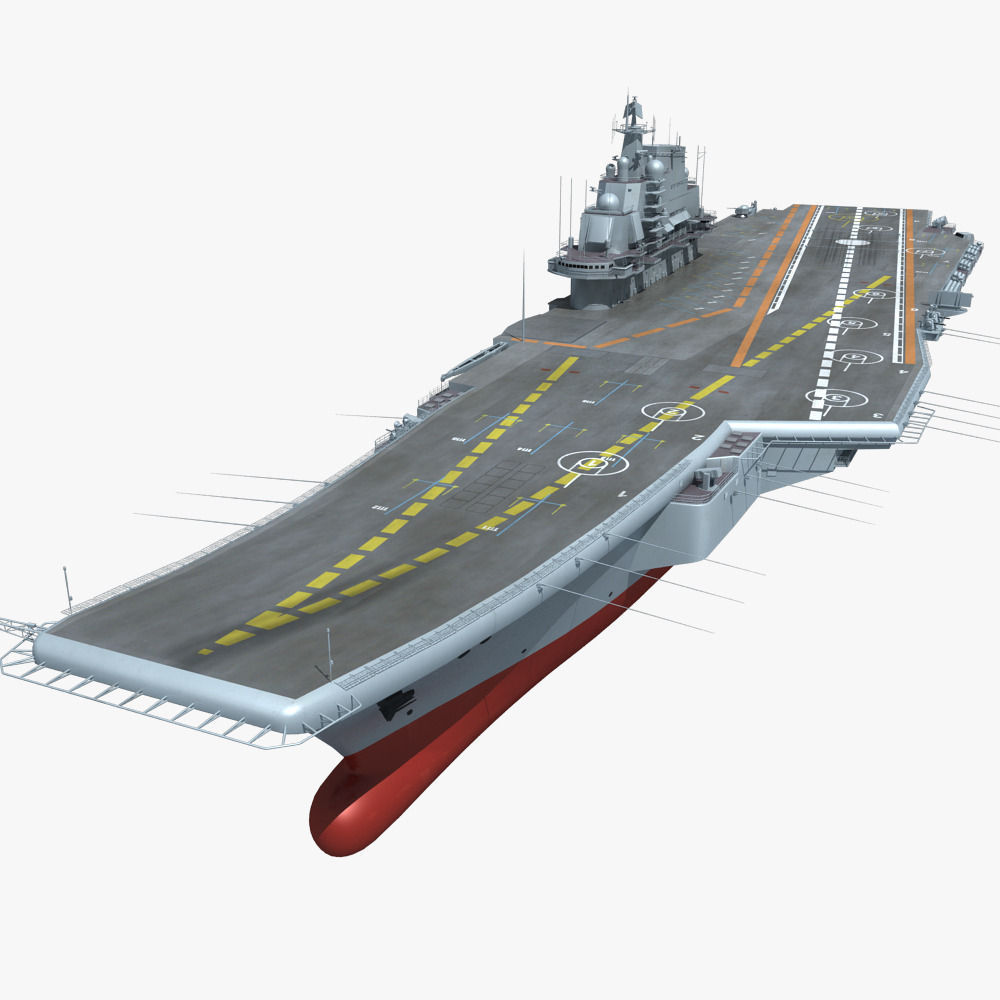 Chinese Liaoning Aircraft Carrier 3D Model MAX FBX | CGTrader