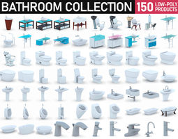 3D model Bathroom Collection - 150 Products