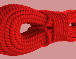 Climbing Rope 3D model